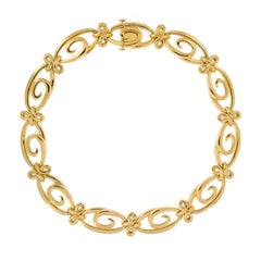 Jean Vitau Harmonie Yellow Gold Necklace