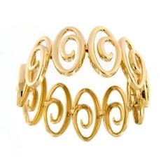Jean Vitau Harmonie Gold Bracelet