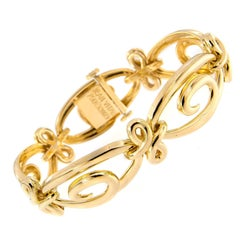 Jean Vitau Harmonie Yellow Gold Bracelet