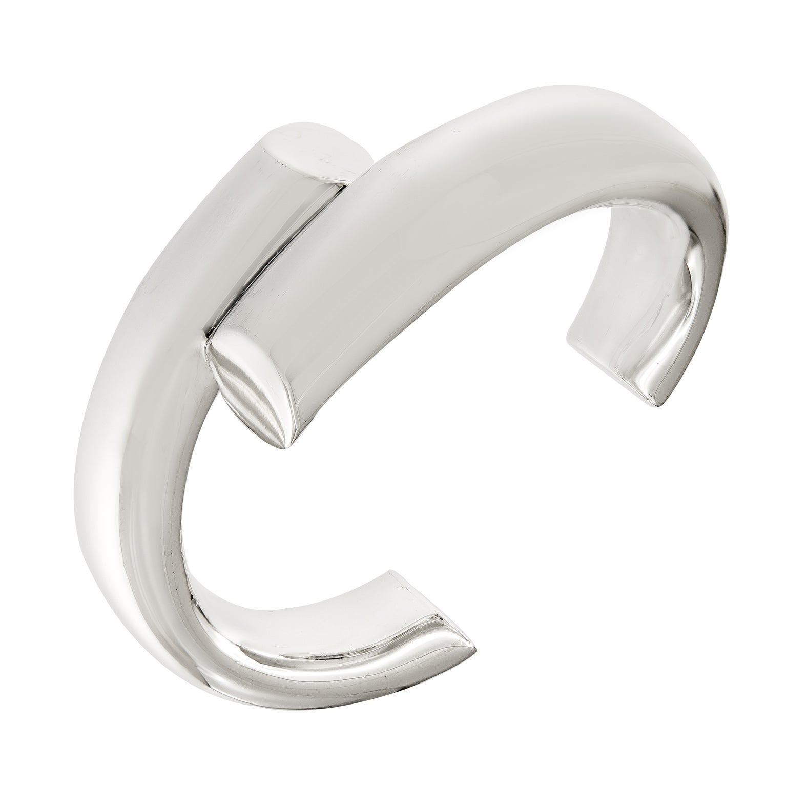 4b83577a5 Tiffany and Co. Elsa Peretti Sterling Silver Cuff Bracelet at 1stdibs