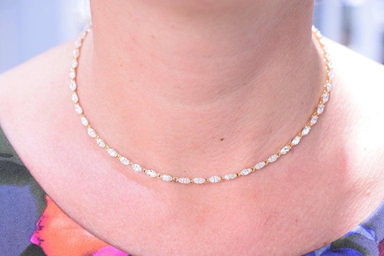 Women's or Men's Van Cleef & Arpels Diamond Necklace For Sale
