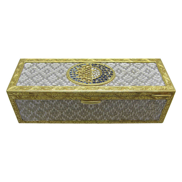 Diamond & Gold Box