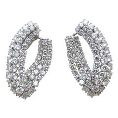 Harry Winston Diamond Earrings!