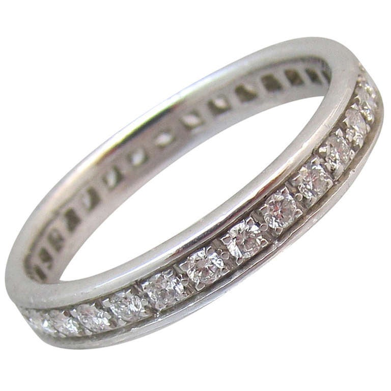 Etincelle Bands: Cartier Diamond Band For Sale At 1stdibs