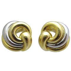 Chaumet Paris Gold Ear Clips