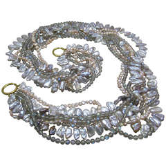 Tiffany & Co. Paloma Picasso Mixed Pearl Necklace