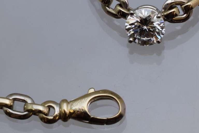Artist Cartier Diamond Necklace For Sale
