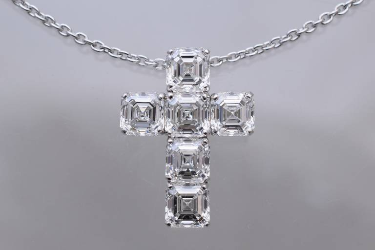 Nally GIA Diamond Cross 5
