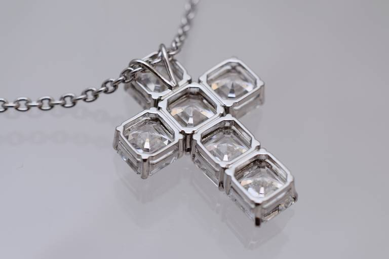 Nally GIA Diamond Cross 2