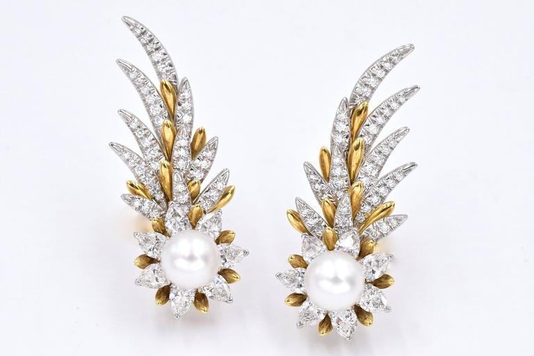 Tiffany & Co. Jean Schlumberger Flame Ear Clips 7