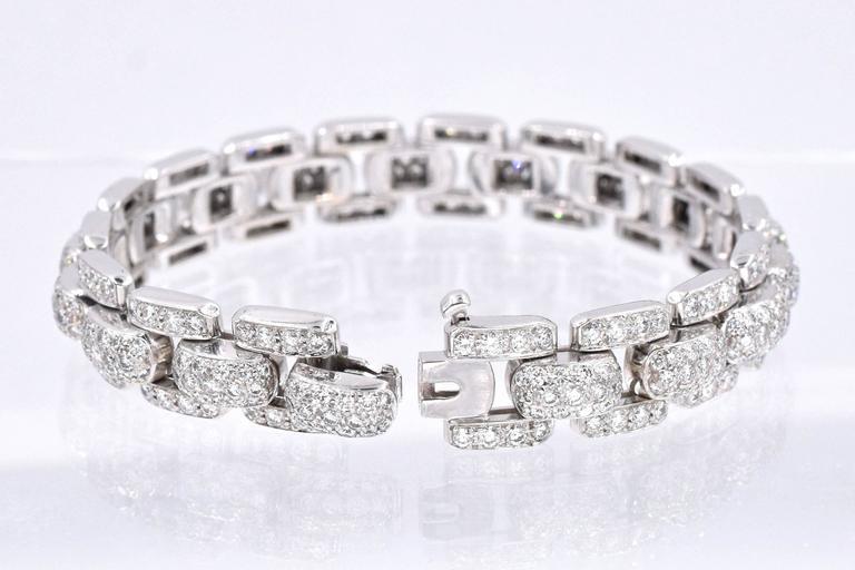 Artist Cartier Diamond  Bracelet For Sale