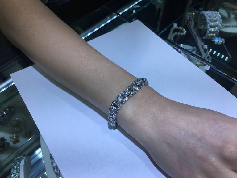 Cartier Diamond  Bracelet For Sale 1