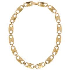 American Gold Studio Link Necklace