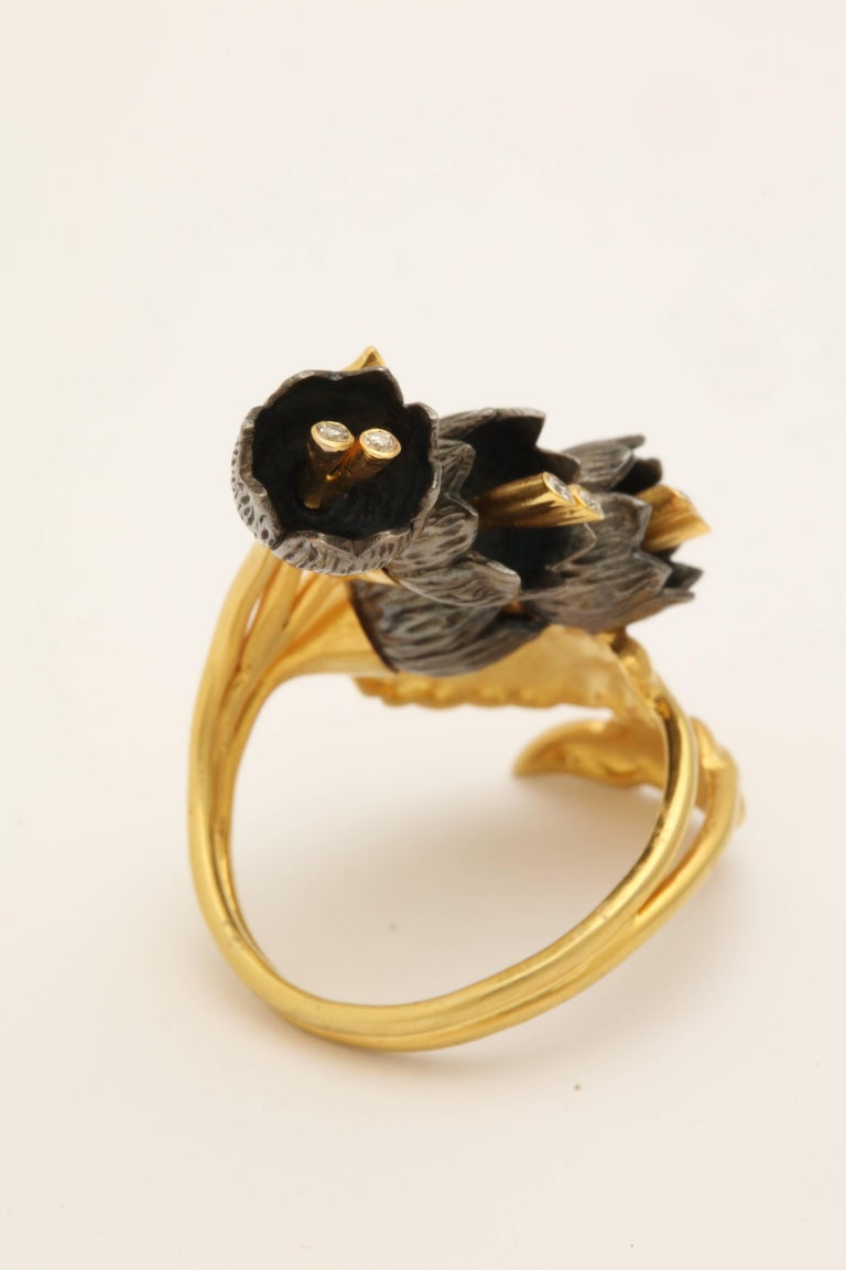 Rebecca Koven Lily of the Valley Ring For Sale 2