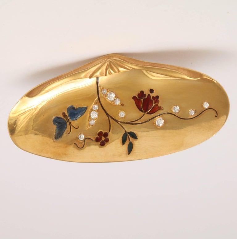 Rebecca Koven Gold Shell Ring 3
