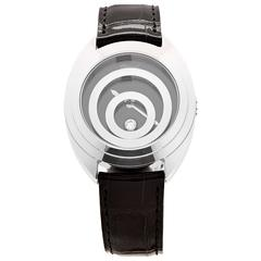 Chopard Ladies White Gold Happy Sport Wristwatch