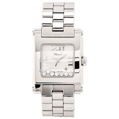 Chopard Ladies Stainless Steel Happy Sport Medium Quartz Wristwatch