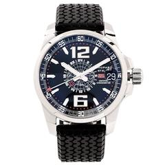Chopard Stainless Steel Mille Miglia Gran Turismo GMT Automatic Wristwatch