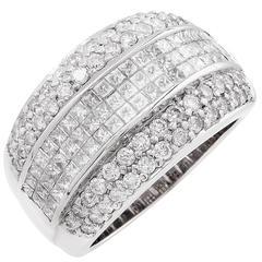 2.25 Carat Diamond Gold Cocktai Ring