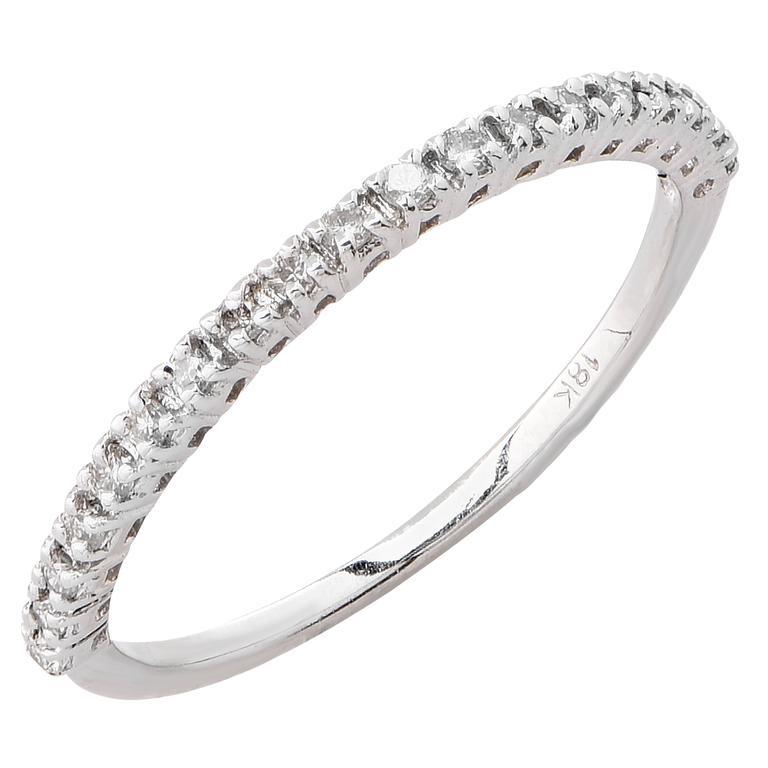 25 Carat Diamond White Gold Ring For