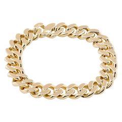 Cartier Gold Link Bracelet
