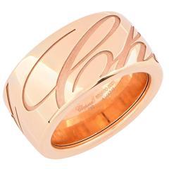 Chopard Chopardissimo 18 Karat Rose Gold Ring