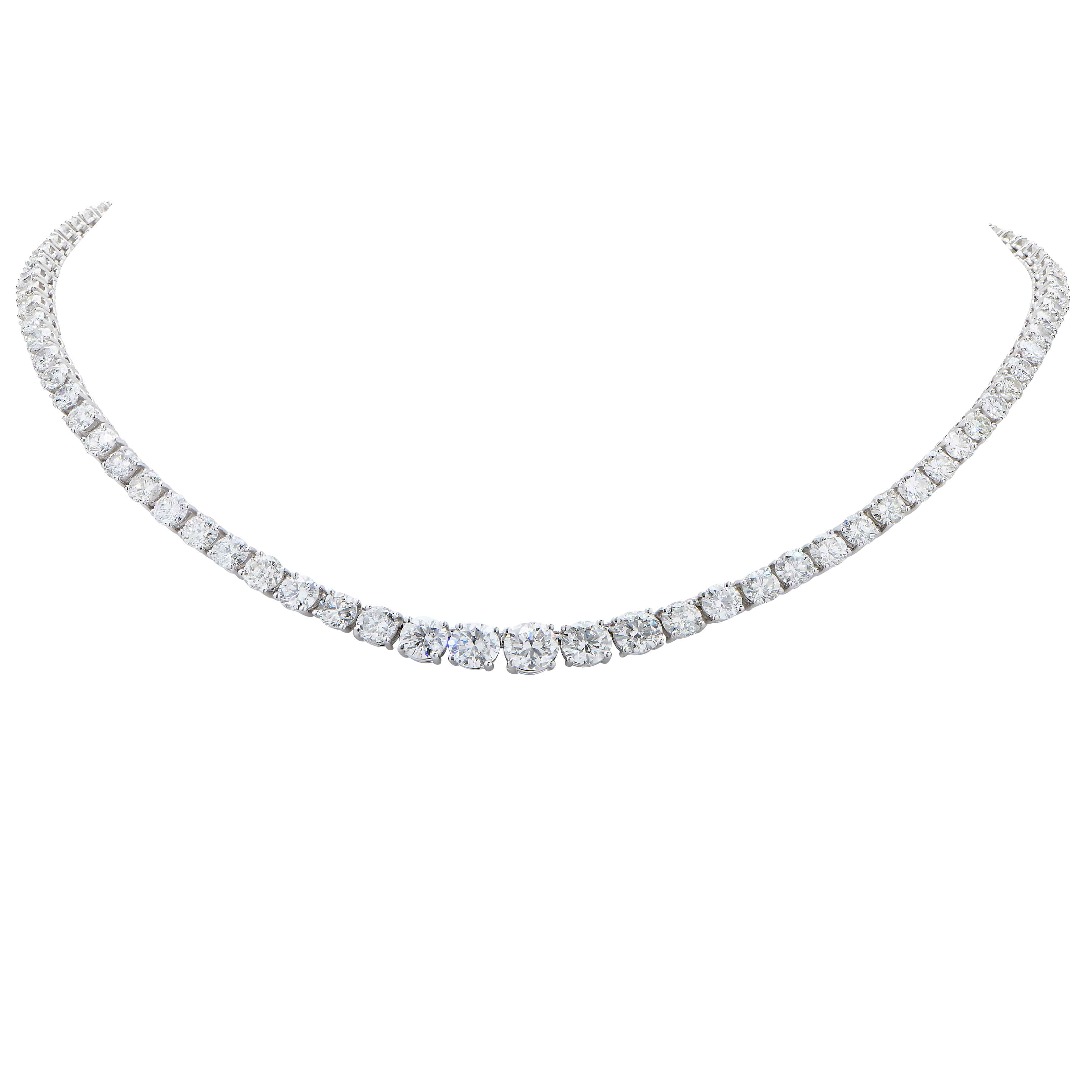 platinum products with length af diamond collection round chain diamonds nk necklace