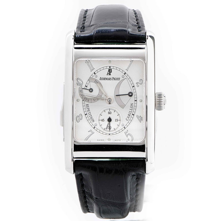 Audemars Piguet Edward Piguet Minute Repeater Platinum For Sale