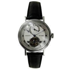 Breguet Platinum Tourbillon Five Day Power Reserve Wristwatch