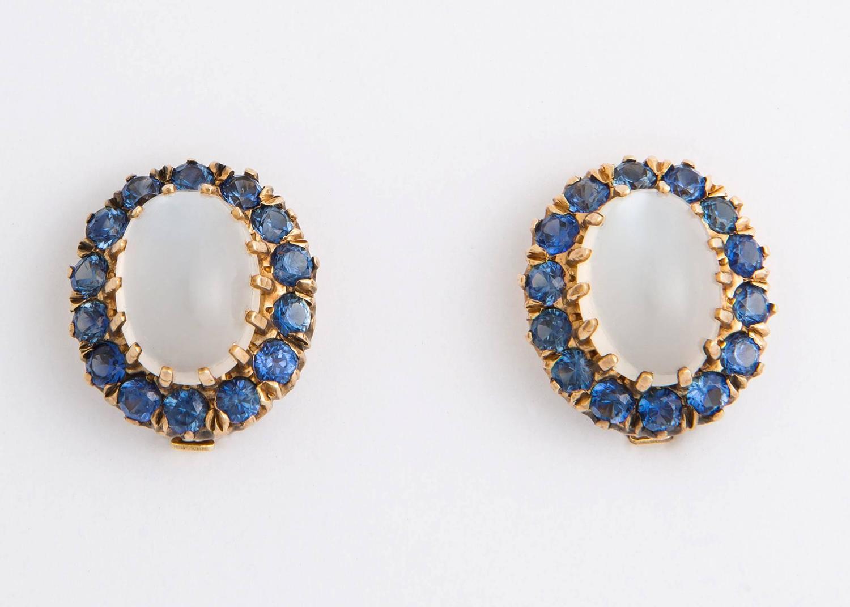moonstone jewelry gold - photo #26