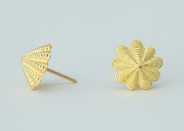 Contemporary Jean Schlumberger for Tiffany & Co. Limpet Earrings For Sale