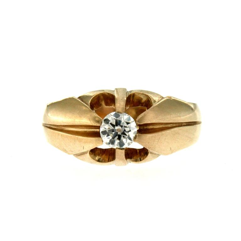 0 30 Carat Diamond Gold Ring For Sale at 1stdibs