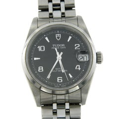 Tudor Stainless Steel Prince Oysterdate Automatic Wristwatch Ref 72000