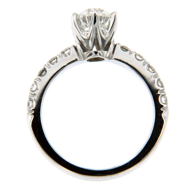 1 Carat IGI Cert Diamond Gold Engagement Ring 1