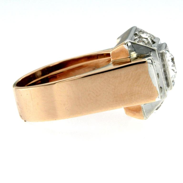 Women's Gold Diamond Band Ring For Sale