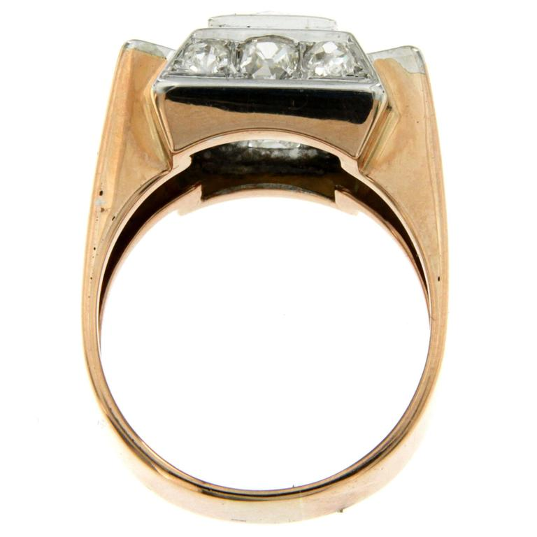Gold Diamond Band Ring For Sale 1