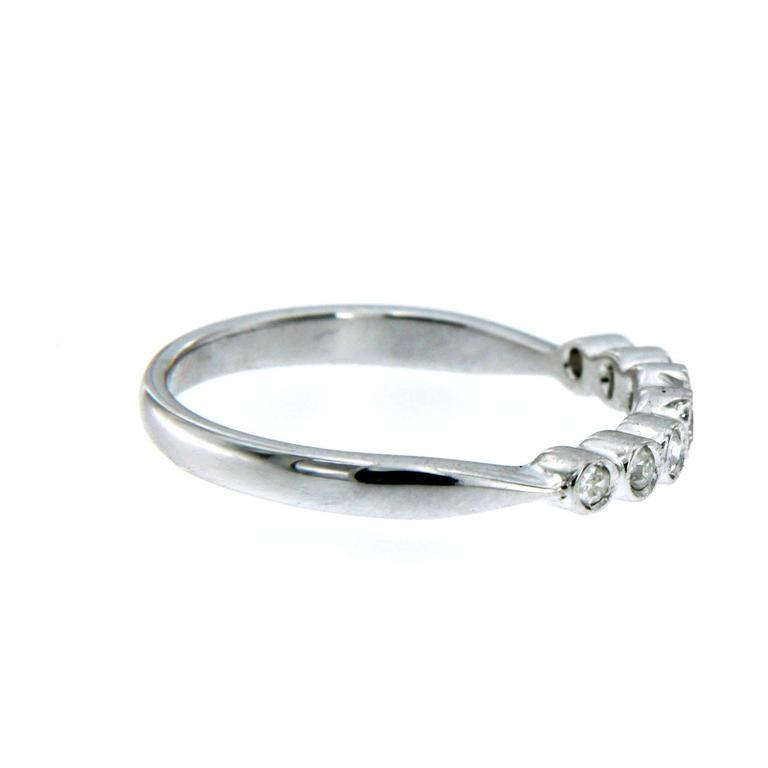 Diamond Gold Band Ring 3