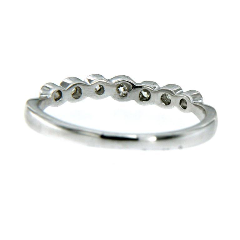 Diamond Gold Band Ring 4
