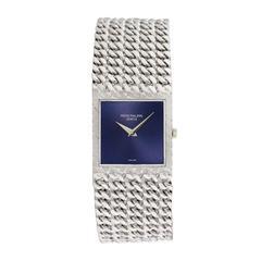 Patek Philippe Jean-Pierre Meyrin White Gold Chain-Link Wristwatch