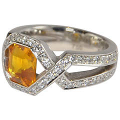 Friedrich Sapphire Diamond Gold Ring