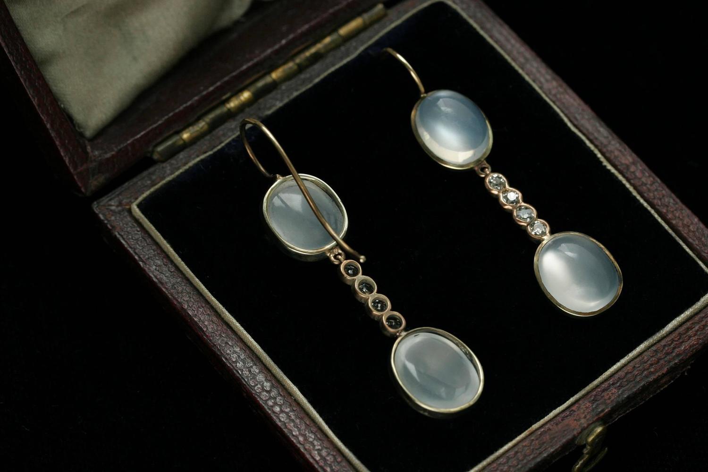 moonstone jewelry gold - photo #36