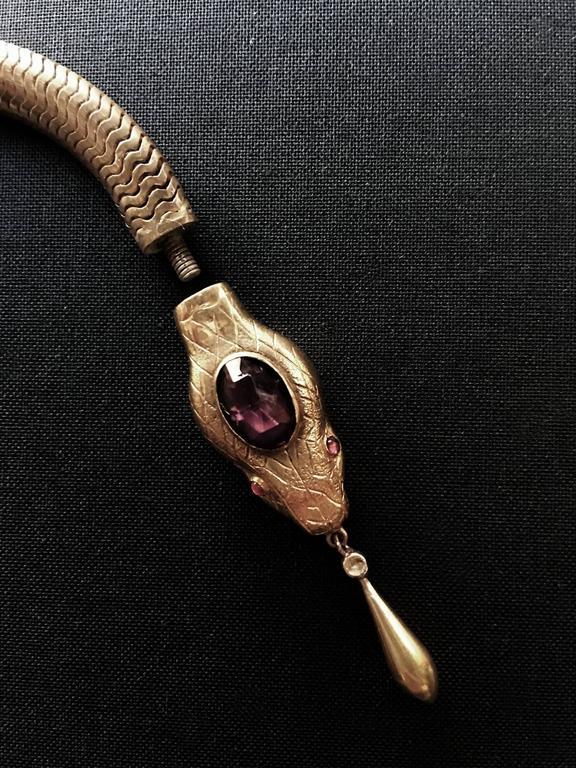 Victorian Flexible Serpent Necklace 5