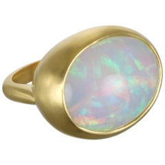 Faye Kim Ethiopian Opal Gold Ring