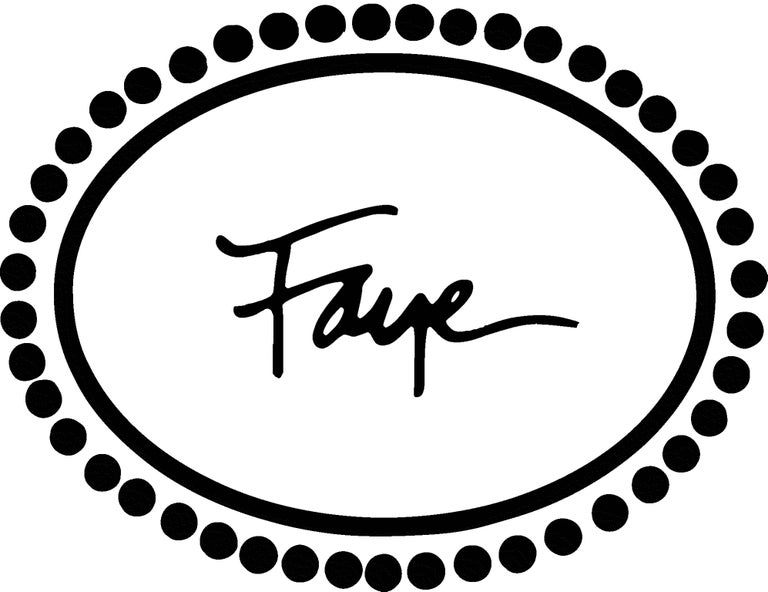 Round Cut Faye Kim Platinum Old European Cut Diamond Bezel Ring For Sale