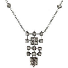 Dalben Diamond Gold Pendant Necklace