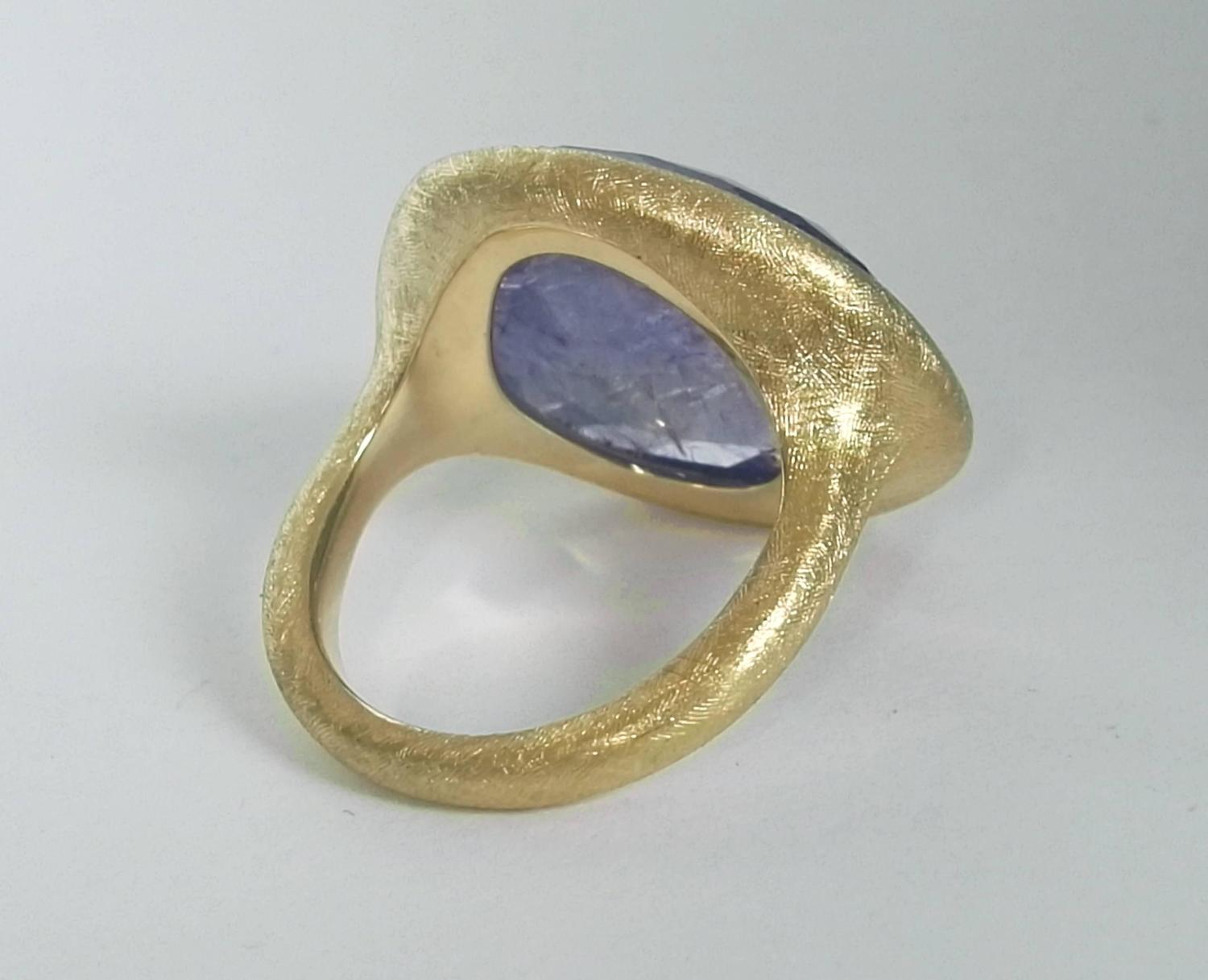 how to make a gold ring from scratch
