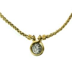 Bulgari Ancient Coin Necklace