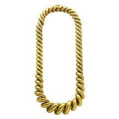 Buccellati Torchon Necklace