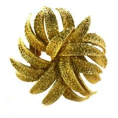 Van Cleef & Arpels Gold Brooch