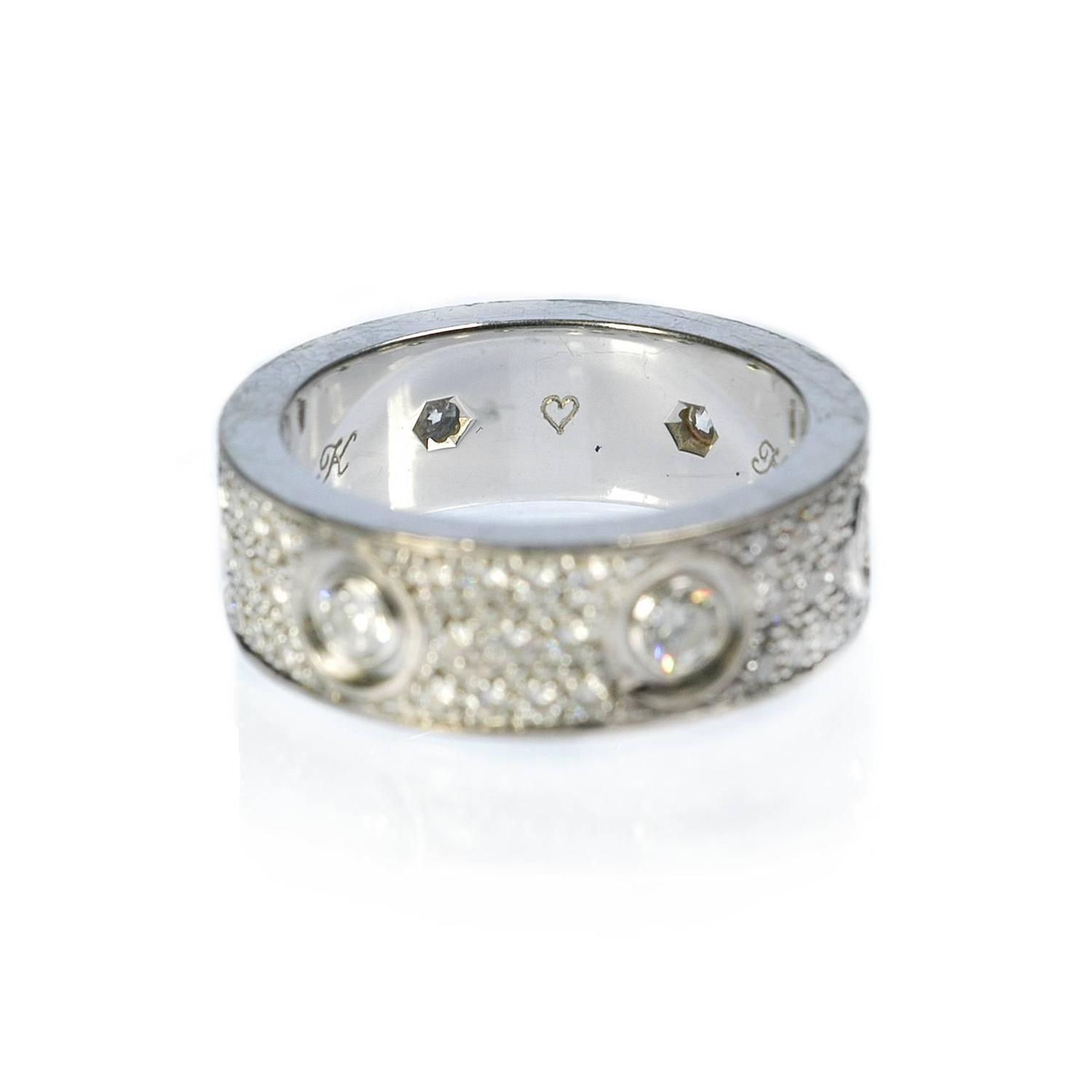 cartier gold wedding band ring for sale at